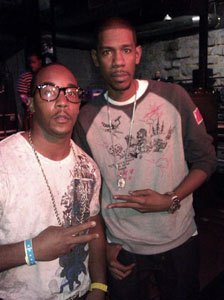 Me & JAY-Z PRODUCER YOUNG GURU OF ROC A FELLA RECORDS